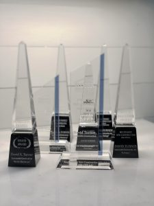 photo of awards won by David Turner